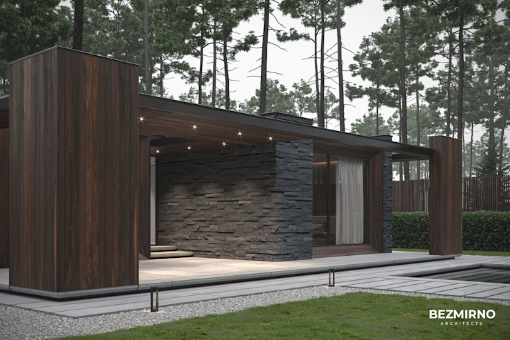 by Bezmirno Minimalist Wood Wood effect