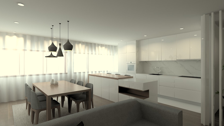 Modern Mutfak QOTDA Design Modern