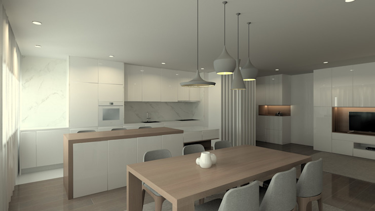 Modern kitchen by QOTDA Design Modern