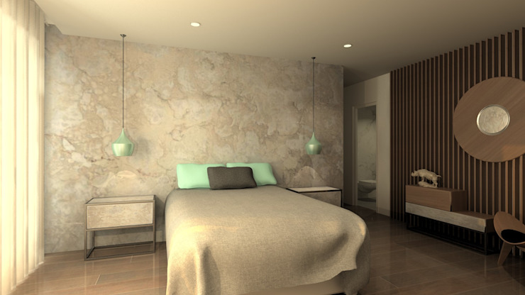 Modern style bedroom by QOTDA Design Modern