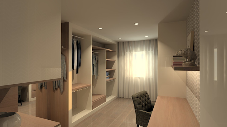 Modern Giyinme Odası QOTDA Design Modern