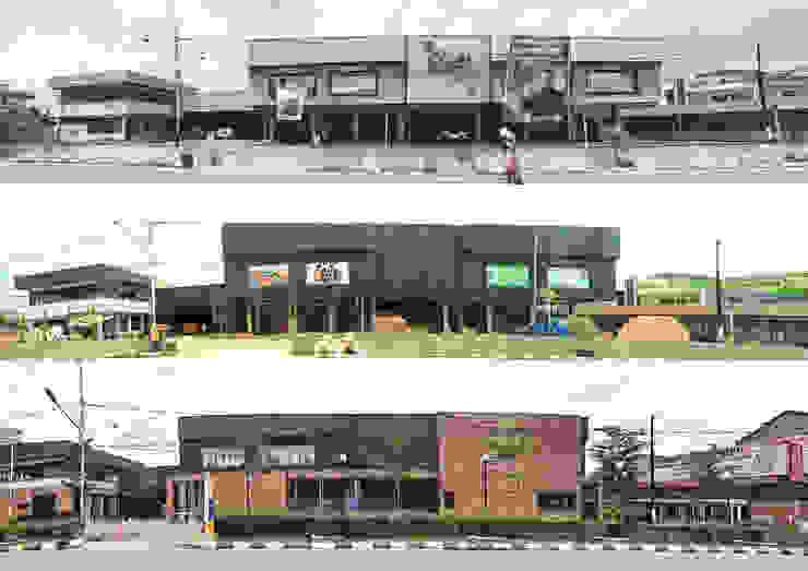 Exterior - Construction Process Pusat Eksibisi Gaya Industrial Oleh PHL Architects Industrial