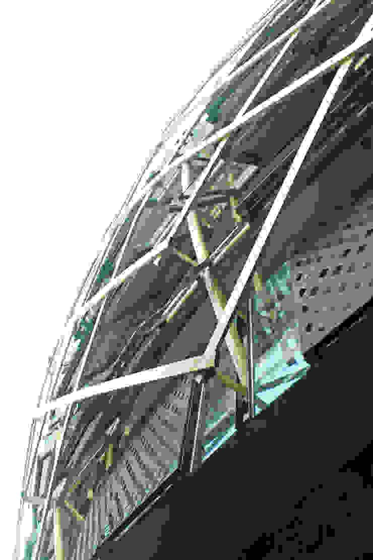 Exterior - Detail Facade Ruang Komersial Tropis Oleh PHL Architects Tropis