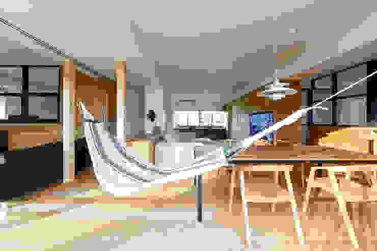 一級建築士事務所haus Comedores de estilo escandinavo