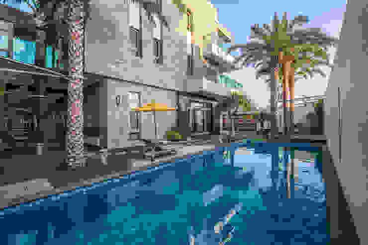 大隆建設/海灣Villa CEO會館2-碧海達觀 SING萬寶隆空間設計 庭院泳池