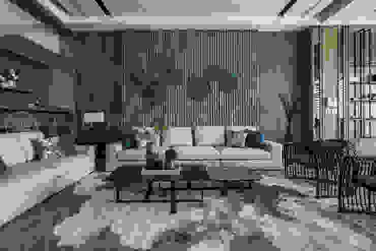 大隆建設/海灣Villa CEO會館2-碧海達觀 SING萬寶隆空間設計 客廳