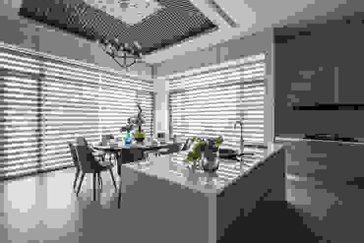 大隆建設/海灣Villa CEO會館2-碧海達觀 SING萬寶隆空間設計 餐廳