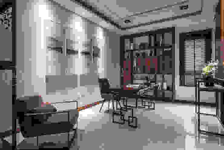 大隆建設/海灣Villa CEO會館2-碧海達觀 SING萬寶隆空間設計 書房/辦公室