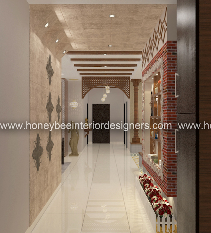 Apartment Design in a Traditional style by Honeybee Interior Designers Eclectic