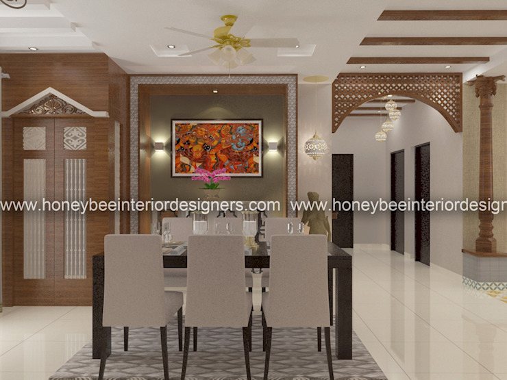 Dining Area Classic style dining room by Honeybee Interior Designers Classic