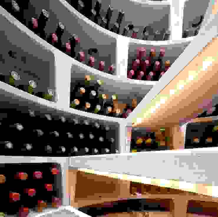 LED lighting Modern wine cellar by Spiral Cellars Modern