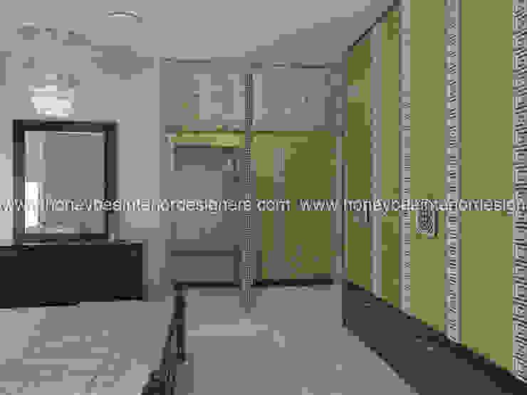 Master Bedroom Eclectic style bedroom by Honeybee Interior Designers Eclectic