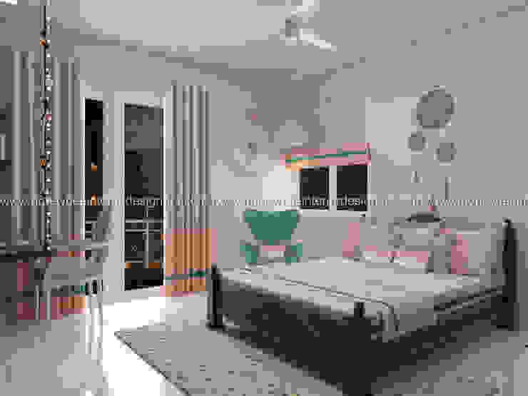 Daughter's Bedroom Eclectic style bedroom by Honeybee Interior Designers Eclectic