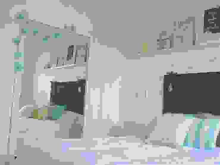 Rustic style bedroom by Vanesa Dufourc - Diseño de Interiores Rustic