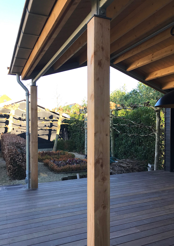 MEF Architect Patios & Decks Wood Black