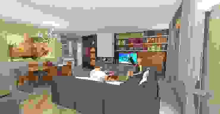 Planet G 现代客厅設計點子、靈感 & 圖片