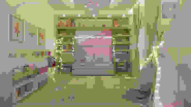 Quarto Menina MD&D Arquitetura e Interiores Quarto infantil moderno