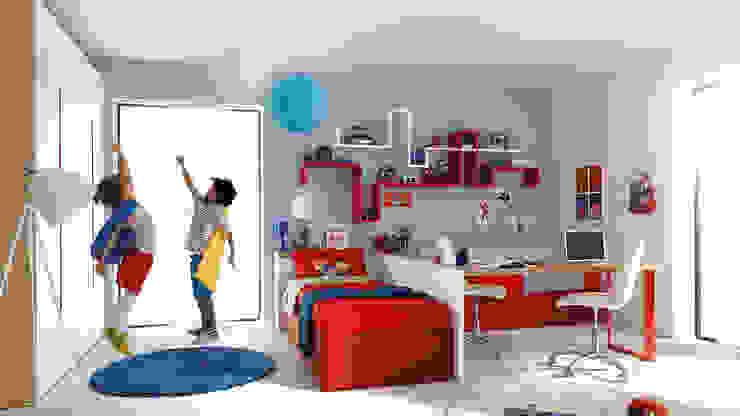 SAK Recamaras Infantiles의  남아 침실
