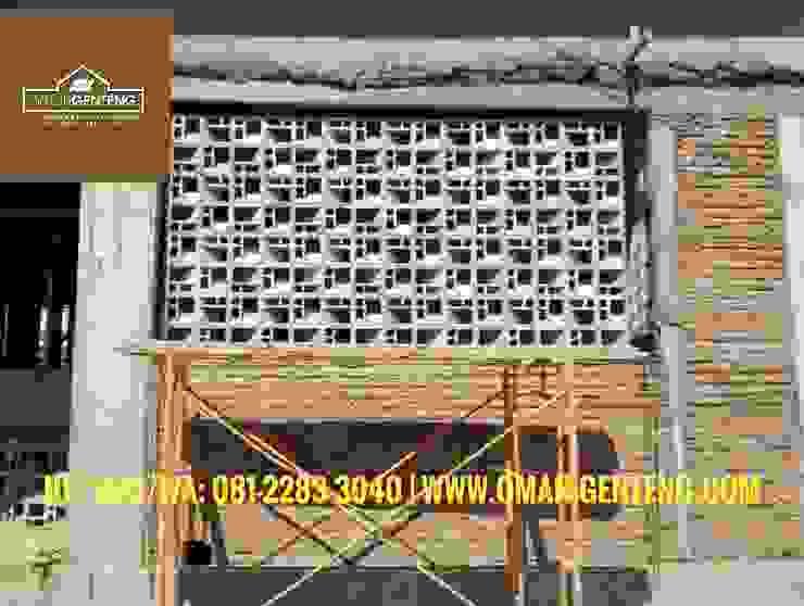HP/WA: 08122833040 - Roster Beton Yogyakarta - Omah Genteng Ruang Komersial Minimalis Oleh Omah Genteng Minimalis Beton
