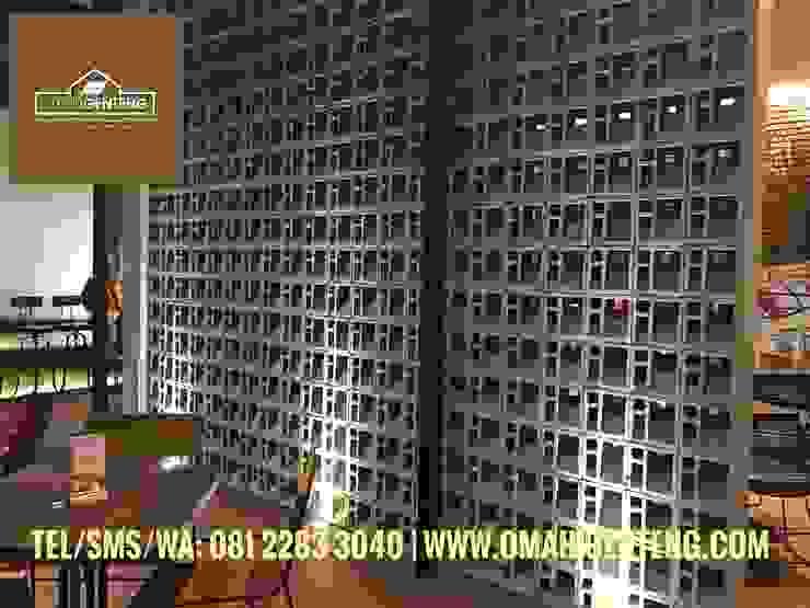 HP/WA: 08122833040 - Roster Beton Tangerang - Omah Genteng Gastronomi Minimalis Oleh Omah Genteng Minimalis Beton