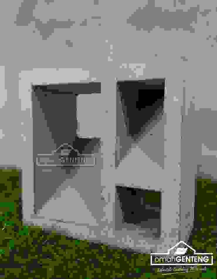 HP/WA: 081 2283 3040 - Roster Beton Solo - Omah Genteng Oleh Omah Genteng Minimalis Beton