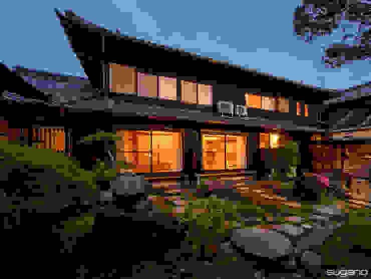 株式会社菅野企画設計 Wooden houses Wood Wood effect