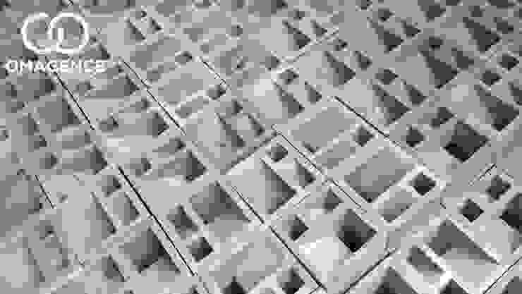 HP/WA: 08122833040 - Roster Beton Surabaya - Omah Genteng Ruang Komersial Minimalis Oleh Omah Genteng Minimalis Beton