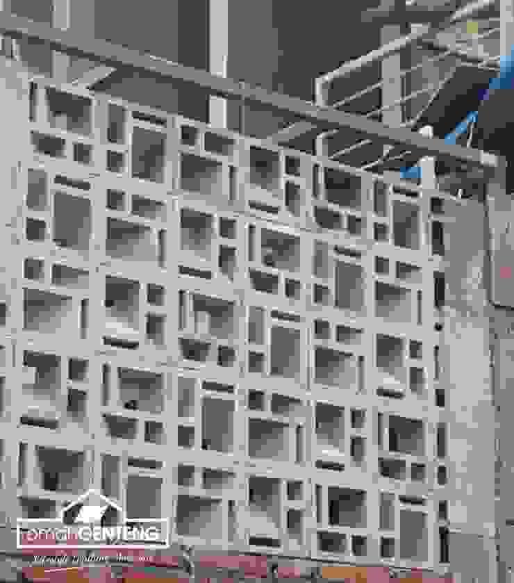 HP/WA: 081 2283 3040 - Roster Beton Semarang - Omah Genteng Ruang Komersial Minimalis Oleh Omah Genteng Minimalis Beton