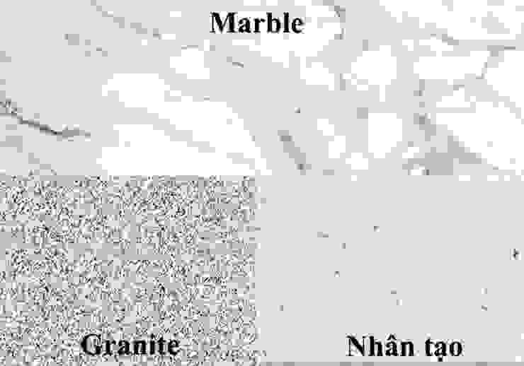 4. Cách phân biệt đá Marble tự nhiên với đá Nhân Tạo và đá Granite: hiện đại  by Công ty TNHH truyền thông nối việt, Hiện đại