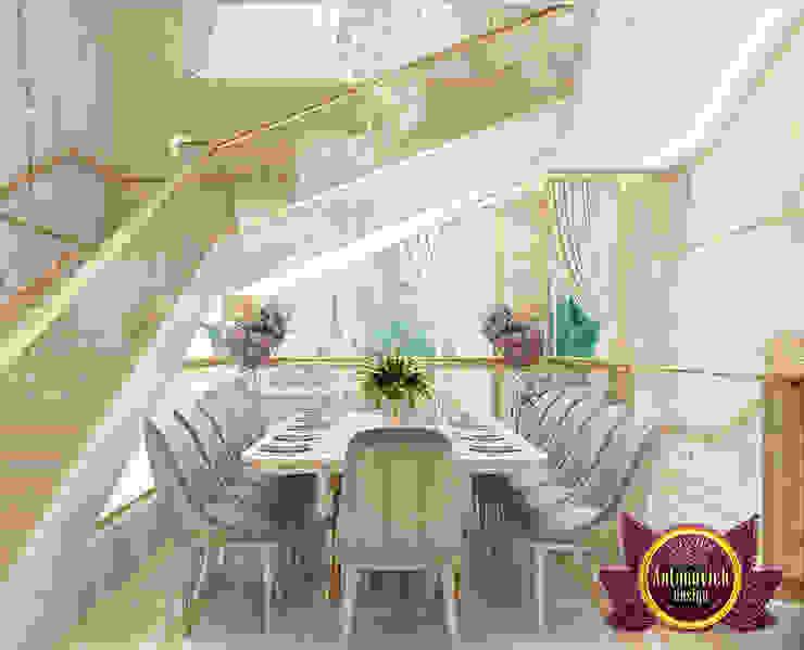 Incredible Elegant Dining Area by Luxury Antonovich Design