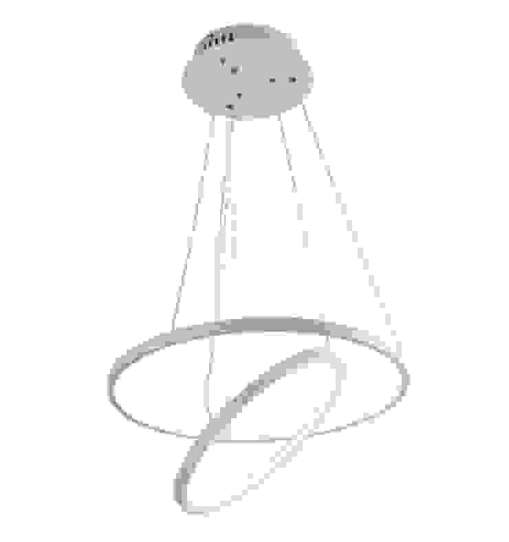 Salas de estilo moderno de KCLITE Moderno Aluminio/Cinc