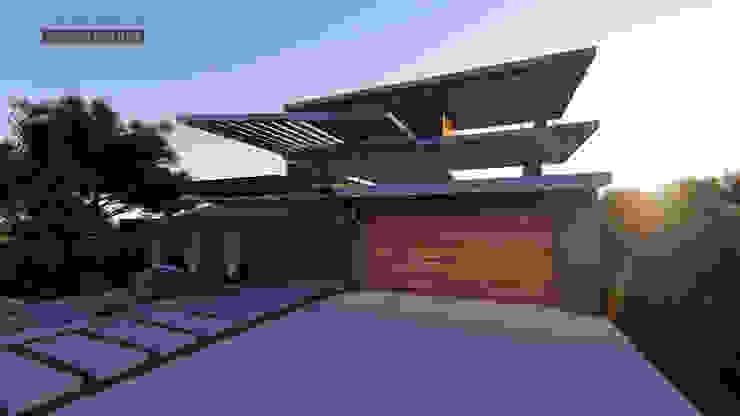 Street View Modern houses by Tiaan Botha Architecture & Associates Modern