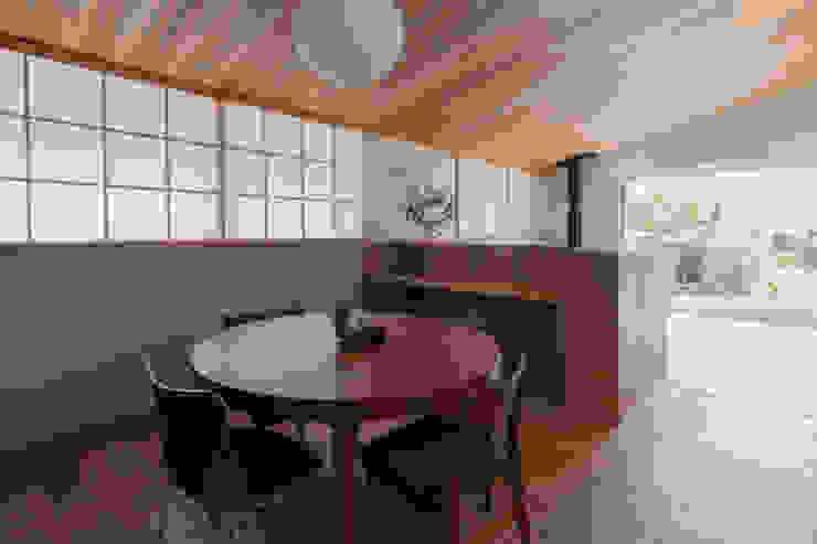 横山町のいえ オリジナルデザインの ダイニング の 安江怜史建築設計事務所 オリジナル