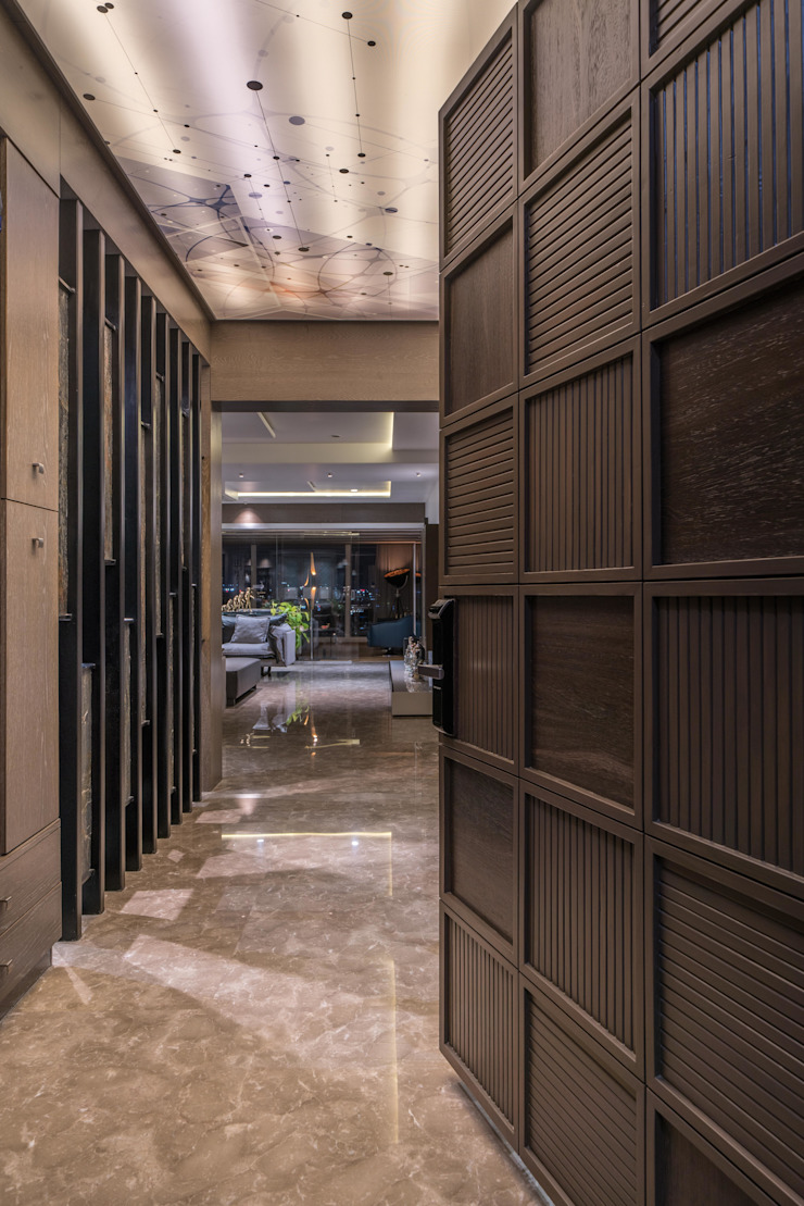 entry lobby by F.Quad Architecture and Interior Design Studio Modern