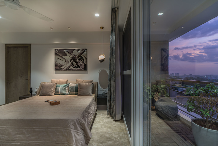 bedroom Modern Bedroom by F.Quad Architecture and Interior Design Studio Modern