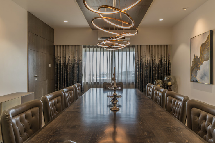 dining Modern Dining Room by F.Quad Architecture and Interior Design Studio Modern