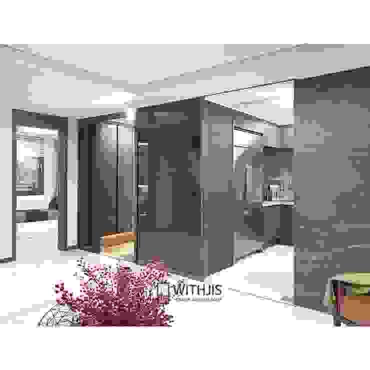 3연동 도어 / ALU-SD 1742 모던스타일 거실 by WITHJIS(위드지스) 모던 알루미늄 / 아연