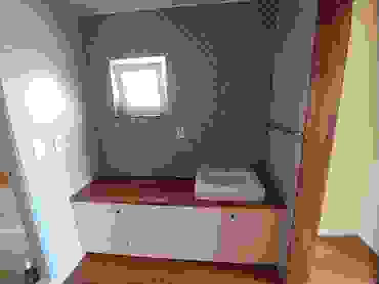 파주 당하리 [고울 연] 주택 미니멀리스트 욕실 by 나무집협동조합 미니멀