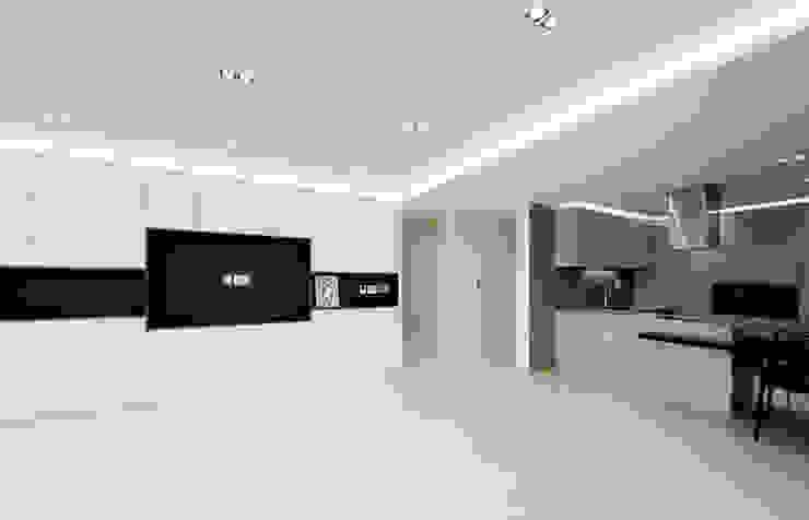 아이들도 좋아하는 투톤하우스_웰카운티49PY 인테리어 모던스타일 거실 by 디자인 아버 모던