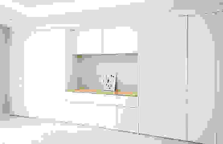 아이들도 좋아하는 투톤하우스_웰카운티49PY 인테리어 모던스타일 침실 by 디자인 아버 모던