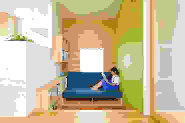 春日部の住宅 オリジナルデザインの 書斎 の 大野三太建築設計事務所一級建築士事務所 オリジナル