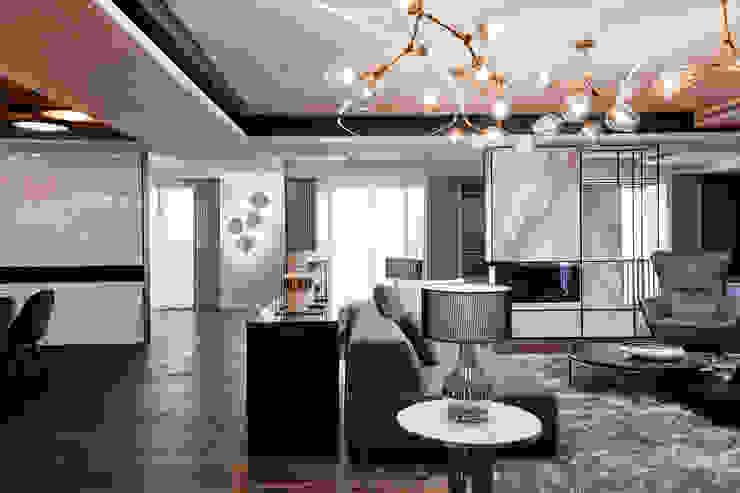 耘非凡 现代客厅設計點子、靈感 & 圖片 根據 瑞嗎空間設計 現代風