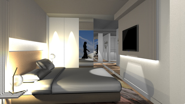 Modern style bedroom by Form Arquitetura e Design Modern