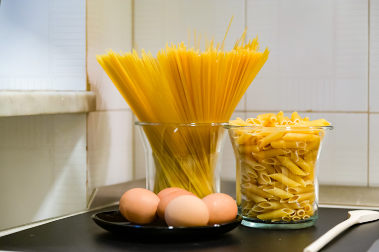 Appartamento adibito a casa vacanza Creattiva Home ReDesigner - Consulente d'immagine immobiliare Cucina in stile industriale