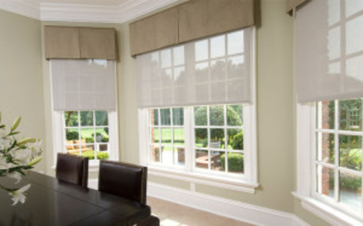 Shades and Blind Control Modern dining room by Integrated Home and Office Modern