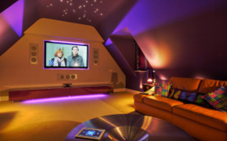 Home Theater Solutions: modern  by Integrated Home and Office, Modern