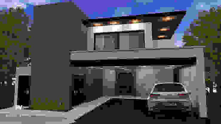 Fachada principal VillaSi Construcciones Casas modernas