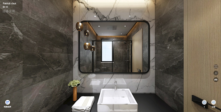 浴室 Bathroom 根據 Joppa Architecture and Interior Design Co., Ltd