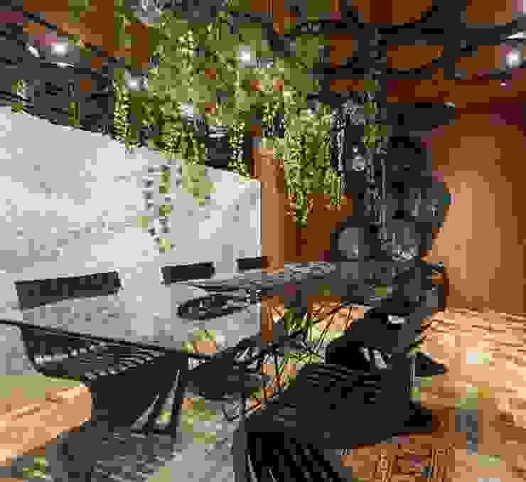 ANNA MAYA ARQUITETURA E ARTE Modern dining room