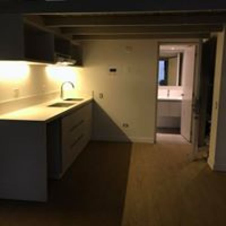 Mueble para Cocina puertas Comunicacion Mueble Baño Iluminacion de Ensamblarq sas Minimalista